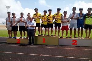 Hành trình các đội tuyển học sinh TDTT trường THPT  Nguyễn Trân giai đoạn  2012- 2016.